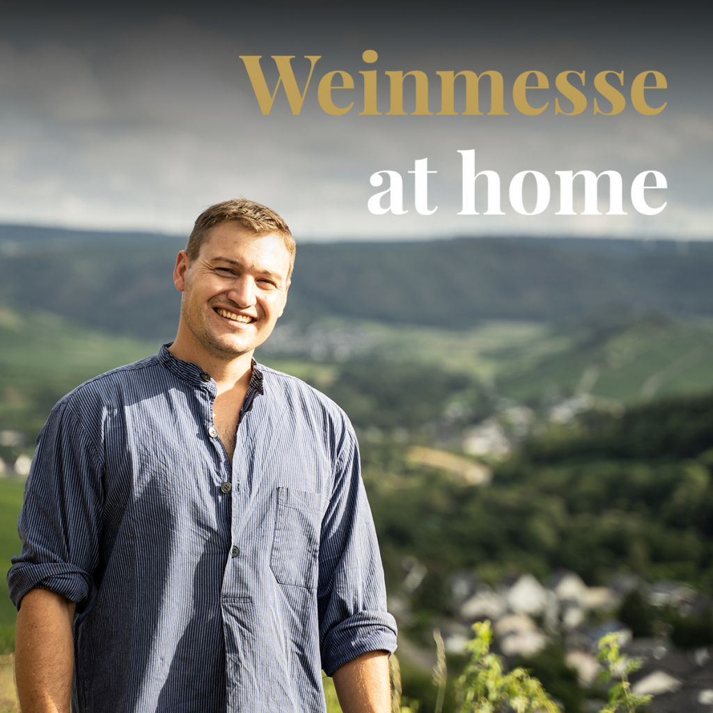 Messe at home - Weingut Hubertushof Lieser